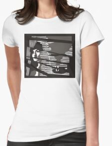 Classic Noir Womens Fitted T-Shirt