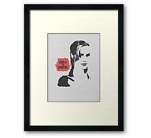 DARLA: The Vampire Framed Print