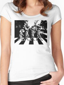 Abbey Road Evolution Women's Fitted Scoop T-Shirt