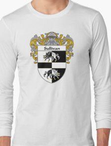 Sullivan Coat of Arms / Sullivan Family Crest Long Sleeve T-Shirt