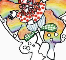 Supreme 'SUPREAM' Butterfly - White/Red/Blue/Grey/Beige Sticker