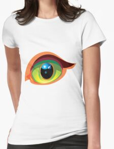 Eye and Beauty Womens Fitted T-Shirt