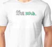 """The Mrs."" Racerback Tank Unisex T-Shirt"