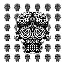Mexican Skull White by PETER CULLEY