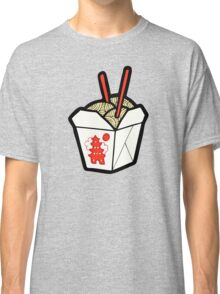 Take-Out Noodles Box Pattern Classic T-Shirt