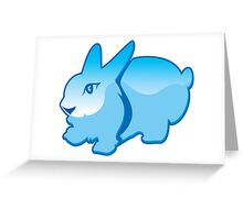 Cartoon Rabbit Greeting Card