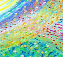 Sparkle Abstract by Betty Mackey