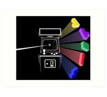 Tetris Floyd Art Print