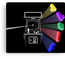 Tetris Floyd Canvas Print