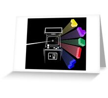 Tetris Floy Greeting Card