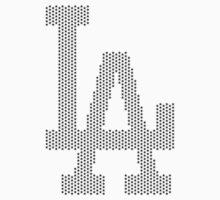 LA - Los Angeles Logo - Stars by TenTimesTen