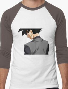 Black Goku   Men's Baseball ¾ T-Shirt