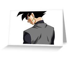 Black Goku   Greeting Card