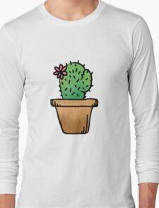 Cute ass cactus Long Sleeve T-Shirt