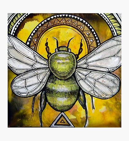 Bee Ascendant Photographic Print