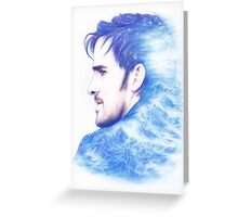 Born With The Sea In His Blood Greeting Card