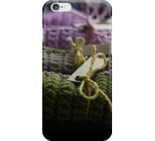 Crochet cloths iPhone Case/Skin