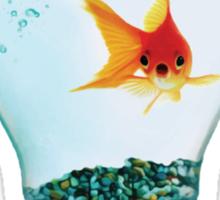 Fish Bulb Sticker