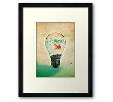 Fish Bulb Framed Print