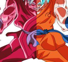 Goku God Kaioken x10 & Goku God Sticker