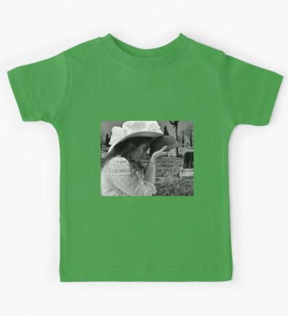 Gilded Memorial in Black and White Kids Tee