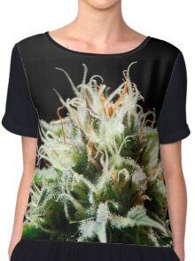 Cannabis // Pineapple Chunk Chiffon Top