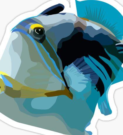 HumuHumu Pig Nose Fish Sticker