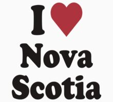 I Heart Love Nova Scotia by HeartsLove