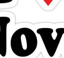 I Heart Love Nova Scotia Sticker