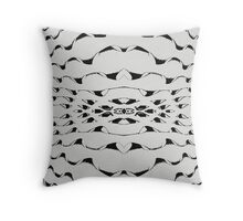 Into the madness Throw Pillow