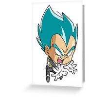 Vegeta Chibi Greeting Card