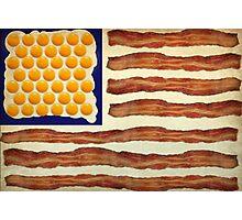 Egg'n'Bacon Flag Photographic Print