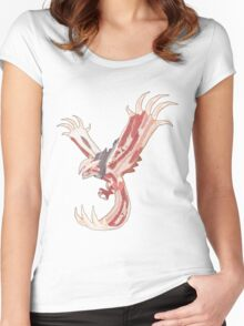 Bacon Shiny Yveltal Women's Fitted Scoop T-Shirt