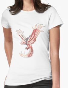 Bacon Shiny Yveltal Womens Fitted T-Shirt