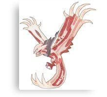 Bacon Shiny Yveltal Canvas Print