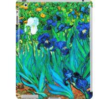 Van Gogh Garden Irises HDR iPad Case/Skin