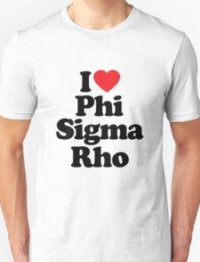 I Heart Love Phi Sigma Rho T-Shirt