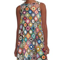 festival diamond A-Line Dress