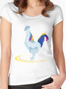 Beautiful Chicken Women's Fitted Scoop T-Shirt