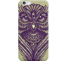 Hand Inked Night Owl Variant iPhone Case/Skin