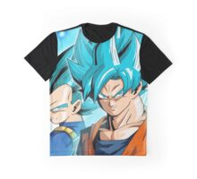 Goku And Vegeta God Selfies Graphic T-Shirt