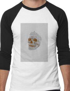 Sepia Skull Princess Men's Baseball ¾ T-Shirt