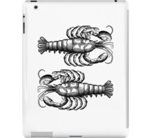 The Lobster in the Mirror iPad Case/Skin