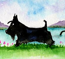 Scottie Dog 'Roaming in the Gloaming by archyscottie