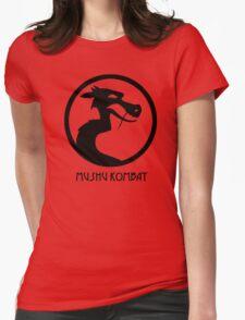 Mushu Kombat Womens Fitted T-Shirt