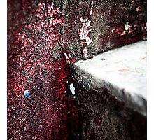 { Corners: where the walls meet #06 } Photographic Print