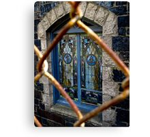 Stained Glass in Cambridge Massachusetts Canvas Print