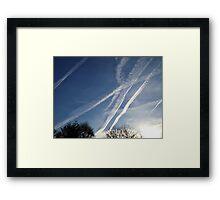 Jet Stream Beauty Framed Print