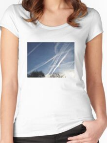 Jet Stream Beauty Women's Fitted Scoop T-Shirt