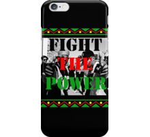 Fight the Power iPhone Case/Skin
